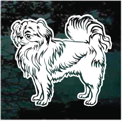 Japanese Chin Profile Decals