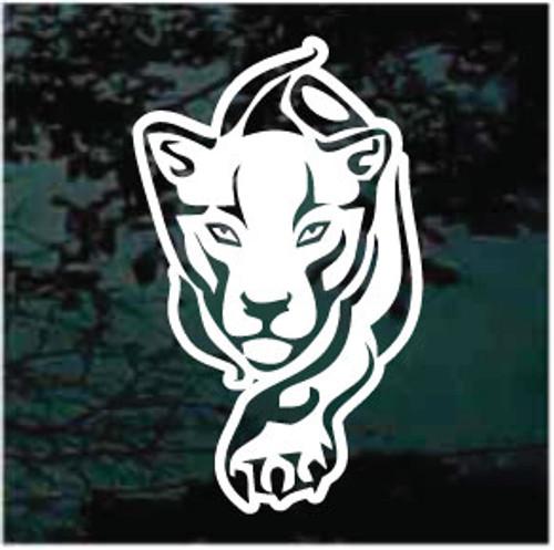 Big Cat Tribal Panther Window Decals