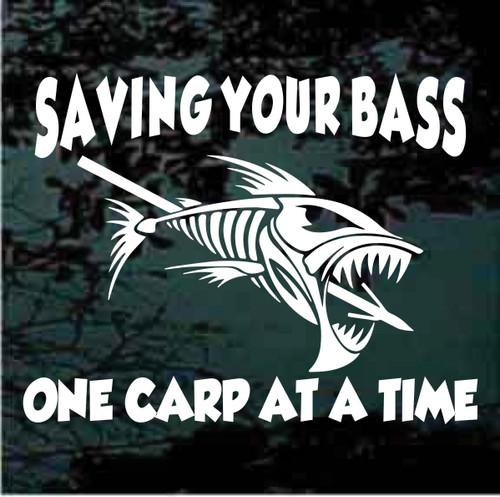 Saving Your Bass Skeleton Fish Bones