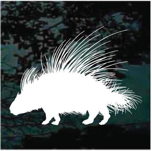 African Porcupine Window Decals