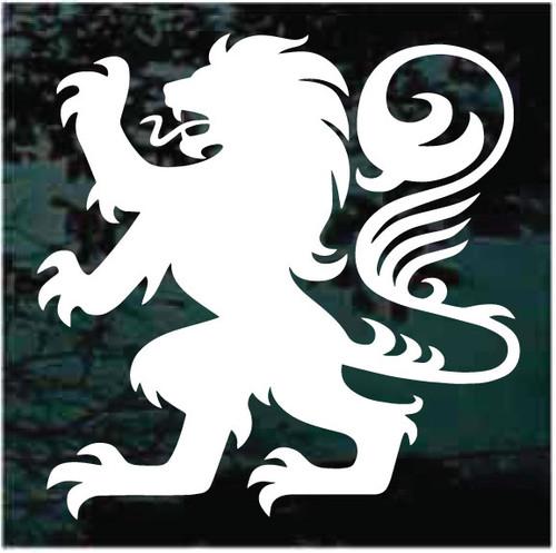 Heraldry Lion Logo Window Decals