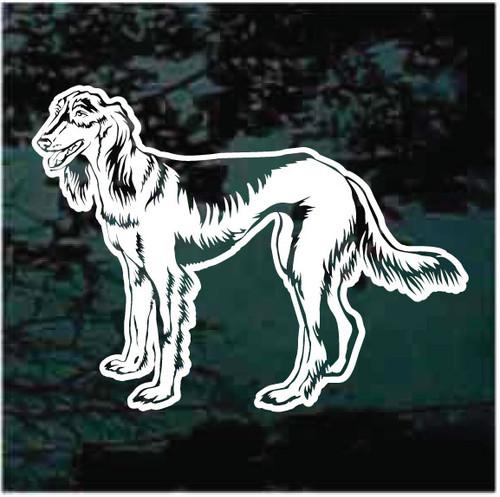 Persian Greyhound Window Decals