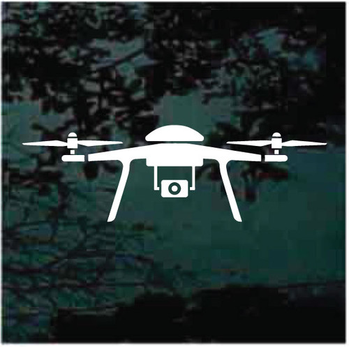 Camera Drone Window Decals