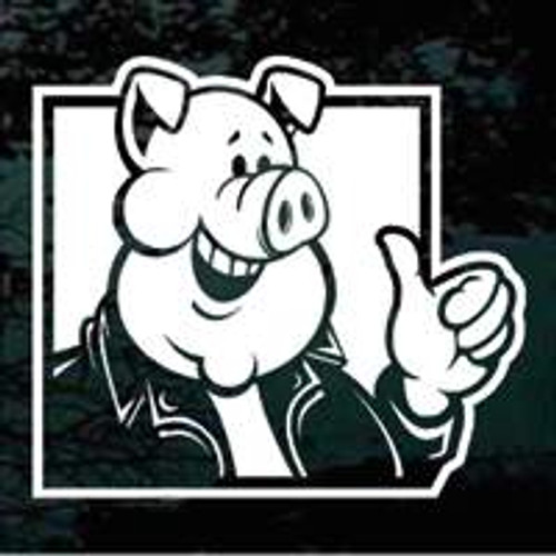 Pig Giving Thumbs Up