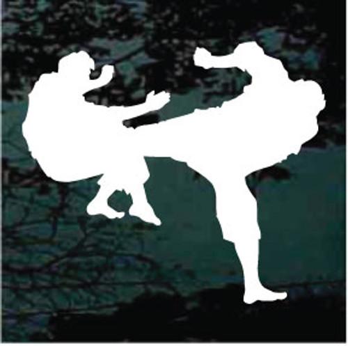 Martial Arts 08 Decal