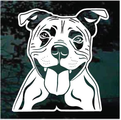 Staffordshire Bull Terrier Window Decals