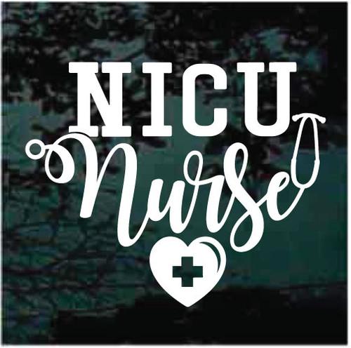 NICU Nurse Window Decals