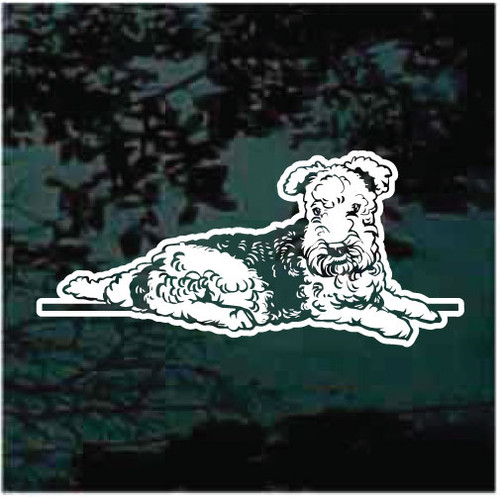 Lakeland Terrier Down Decals