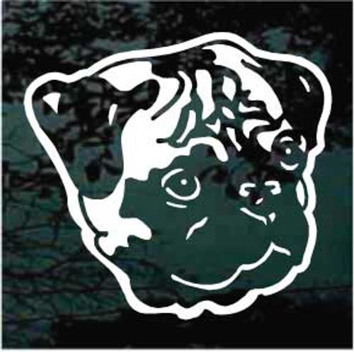 Pug 04 Window Decal