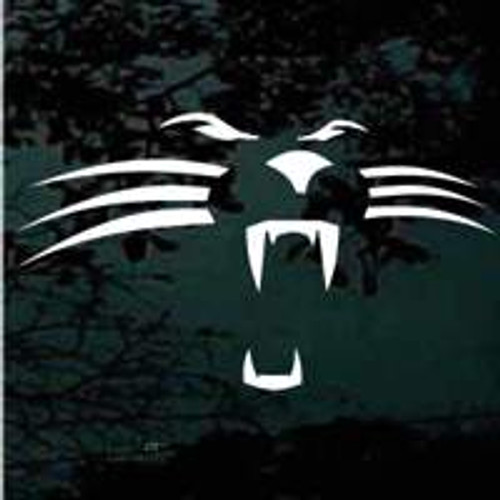 Panther Face Decals