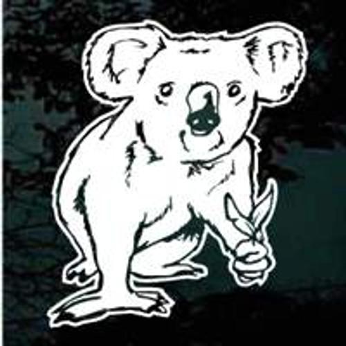 Koala Bear Window Decals