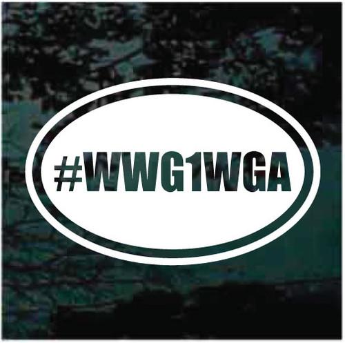 WWG1WGA Oval Decals