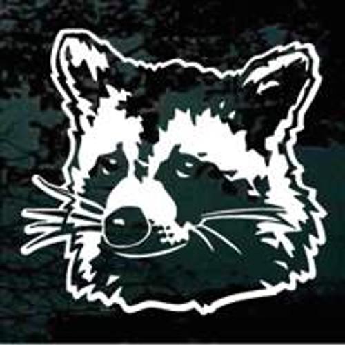 Realistic Raccoon Head Decals