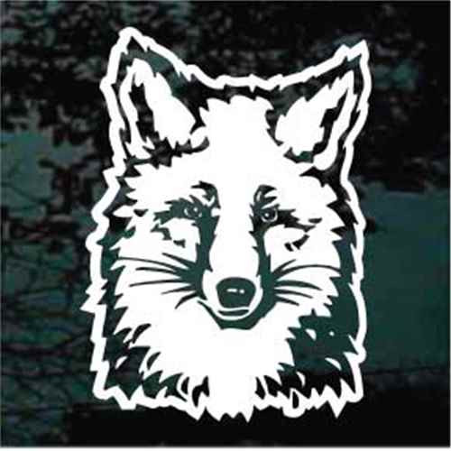Fox Hunting Decals Car Window Stickers Personalized