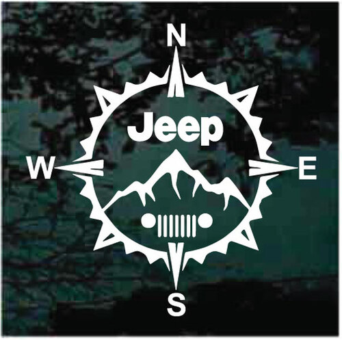 Jeep Compass Window Decals
