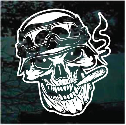 Biker Skull Decals