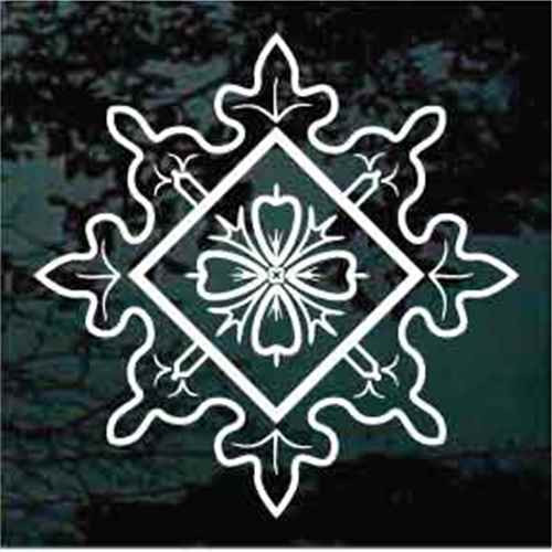 Folk Art Snowflake