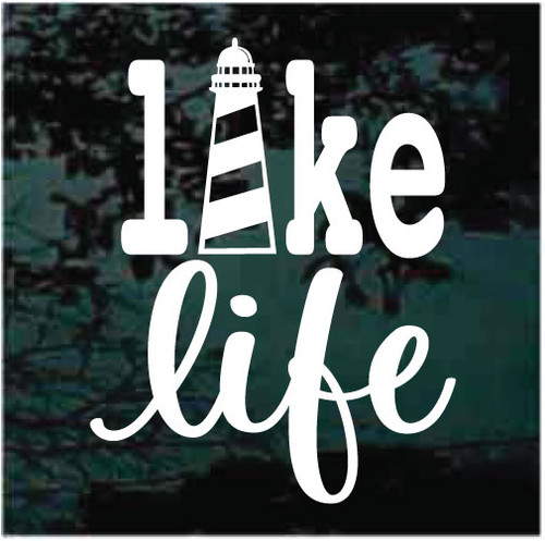 Lake Life Lighthouse Decals