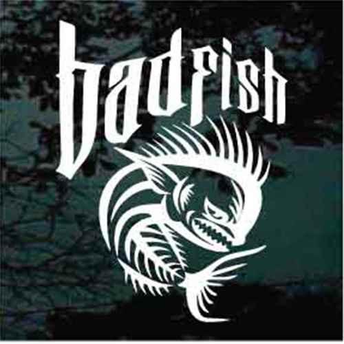 Bad Fish Dorado Dolphin Decals