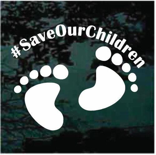Save Our Children Decals