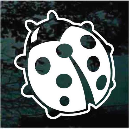 Cartoon Ladybug Decals