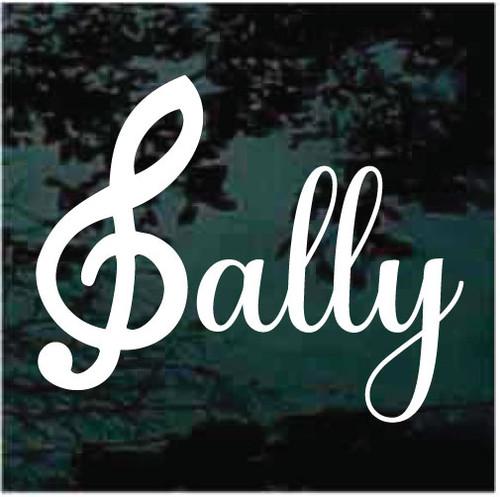 Sally Custom Decals