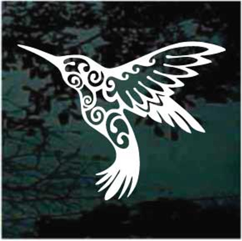Ornamental Hummingbird Decals