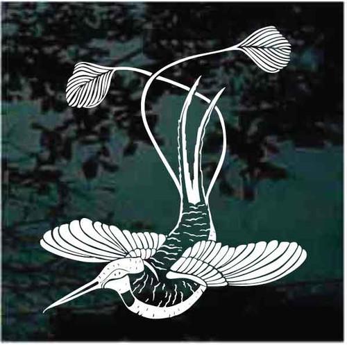 Beautiful Hummingbird Decals