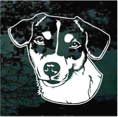 Jack Russell Terrier 01 Window Decal