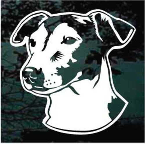 Jack Russell Terrier 02 Window Decal