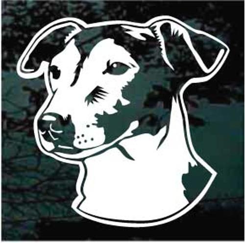 Delightful Jack Russell Terrier Decals