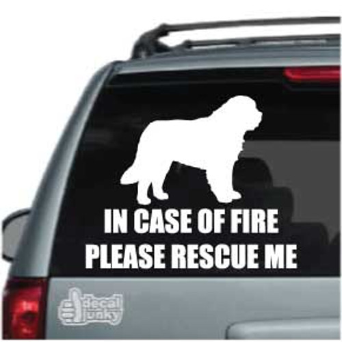 St Bernard Fire Rescue Car Decals