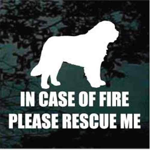 St Bernard Fire Rescue Decals