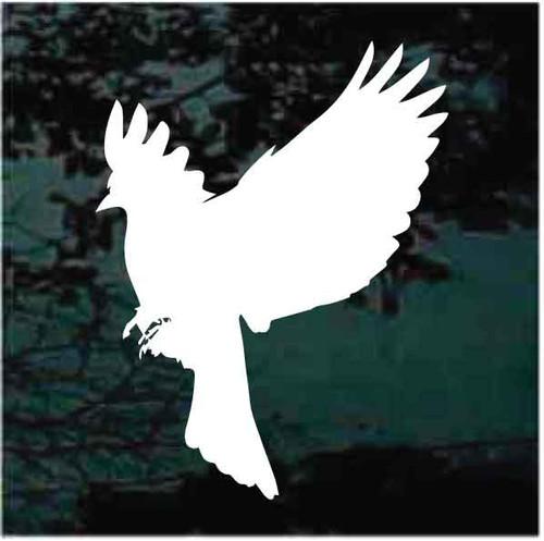 Blackbird Silhouette Decals