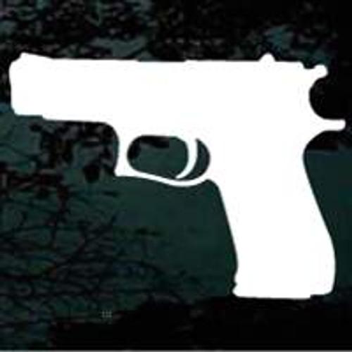 Pistol Silhouette 01