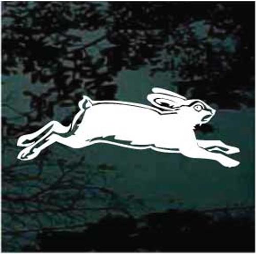 Cool Rabbit Running Decals