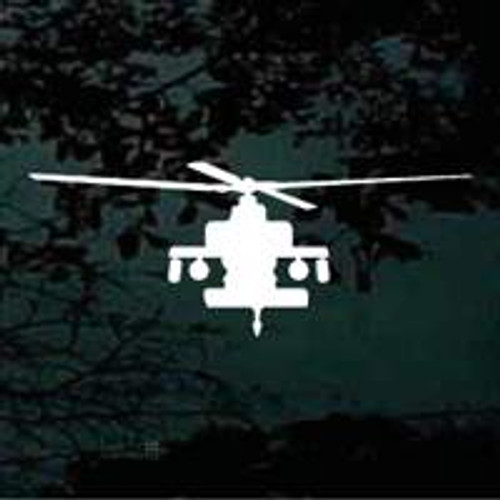 Helicopter Front View Stickers