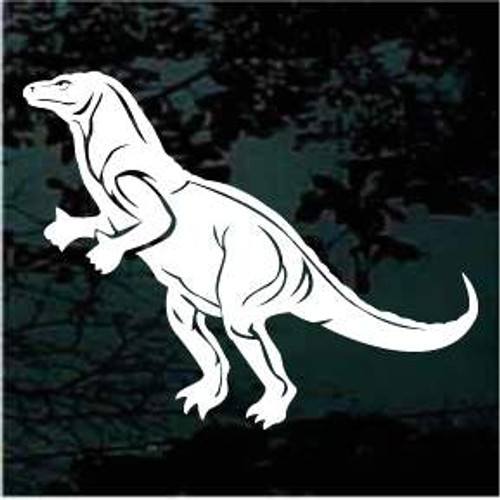 Iguanodon Dinosaur Window Decals