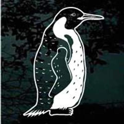Realistic Penguin Standing Decals