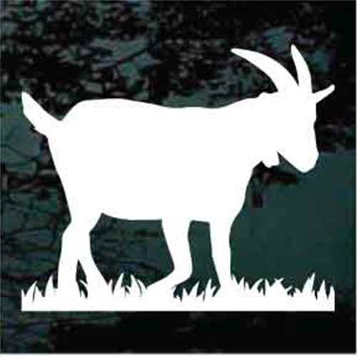 Billy Goat Silhouette
