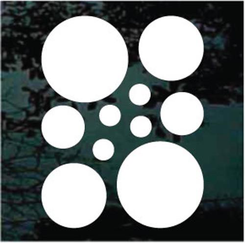 Polka Dots Set of 10