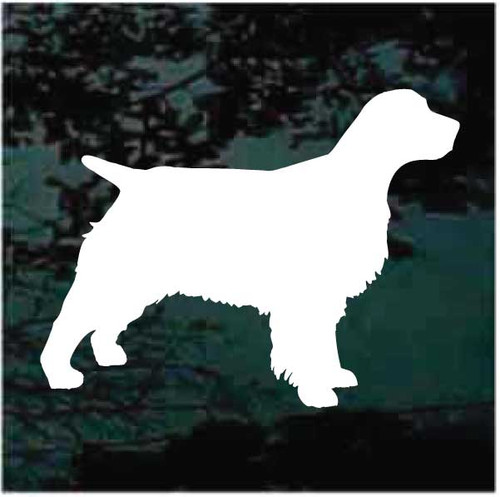 Classic English Springer Spaniel Silhouette Decals