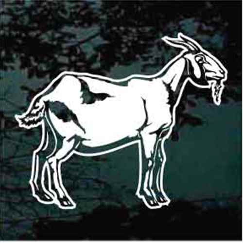 Billy Goat Window Decals