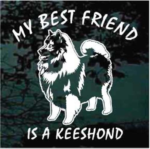 My Best Friend Is A Keeshond