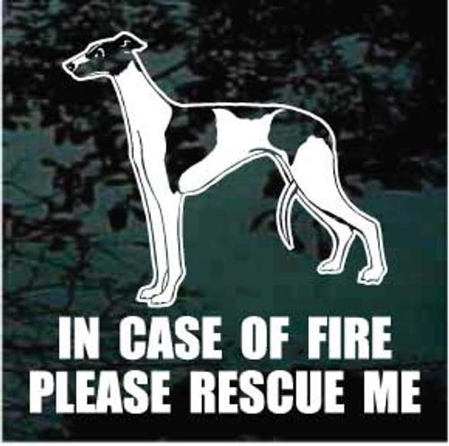 Greyhound 01 Fire Rescue Window Decal