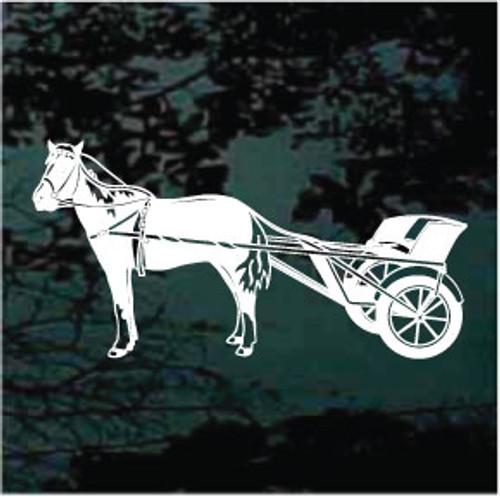 Miniature Horse & Cart Decals