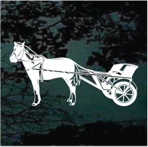 Miniature Horse & Cart Decals
