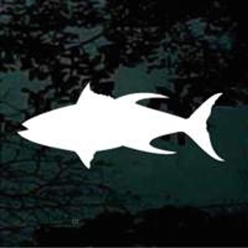 Tuna Fish Silhouette 01