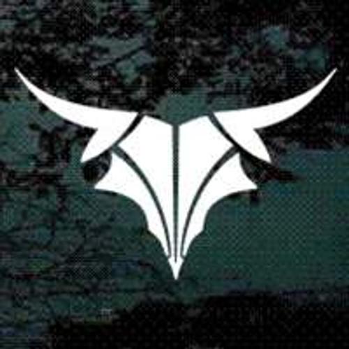 Tribal Bull Skull 03