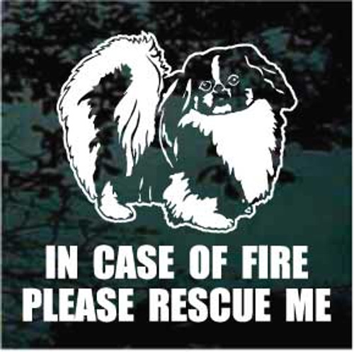Pekingese 01 Fire Rescue